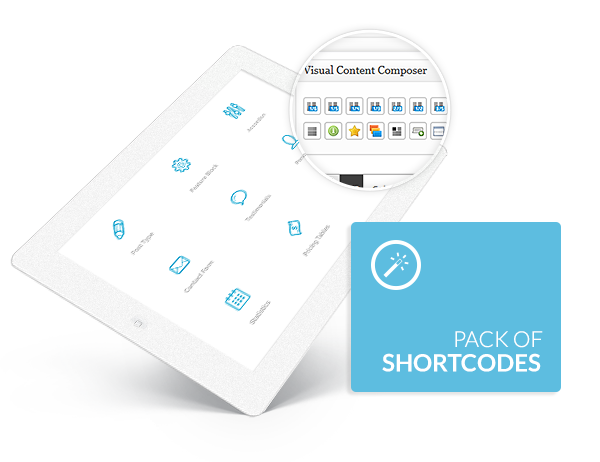 Extended shortcodes pack