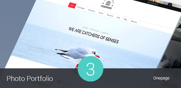 Photography & Photo Studio WordPress Theme