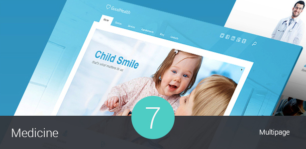 Medical & Health WordPress theme