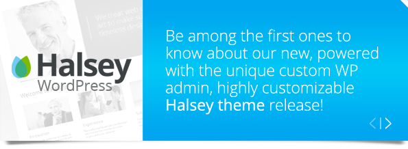 Halsey Wordpress - subscribe