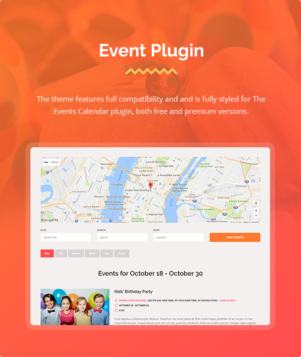 event theme Happy Events - Holiday, Event Agency & Planner Events WordPress Theme (Events) Happy Events – Holiday, Event Agency & Planner Events WordPress Theme (Events) 4