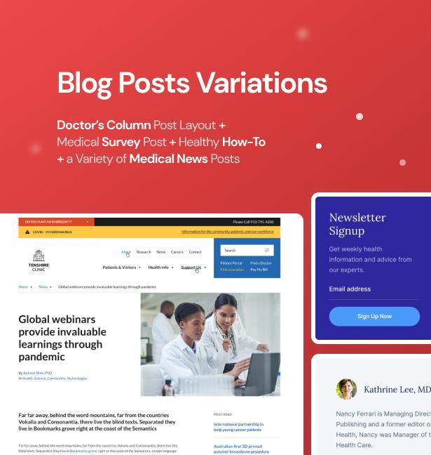 Clinic WordPressTheme