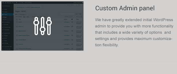 Custom Wordpress Admin