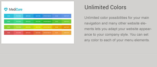 Navigation Color Schemes
