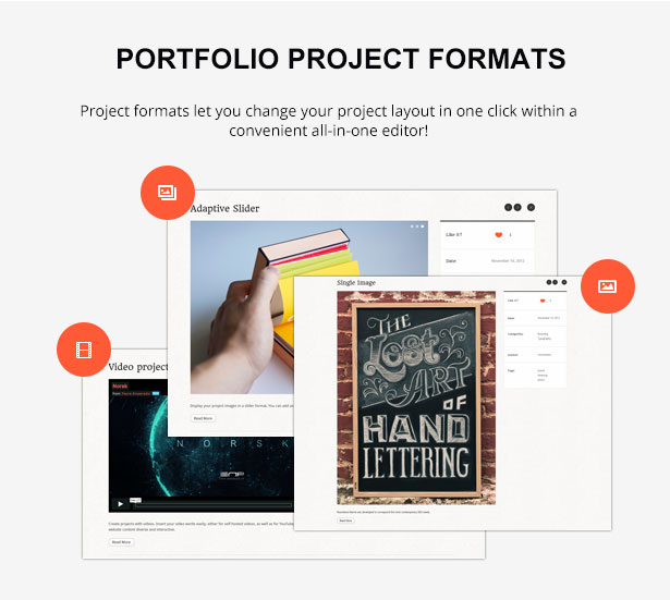 project formats