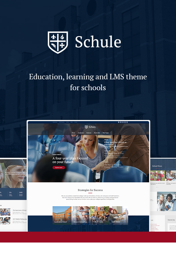 Schule – School & Education Theme (Education)