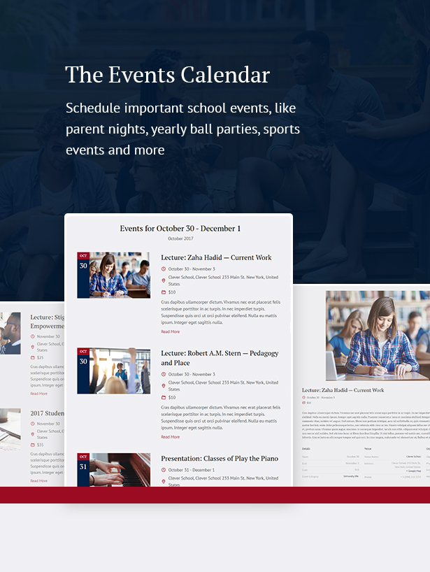 lms  Download Schule – School & Education Theme nulled 4