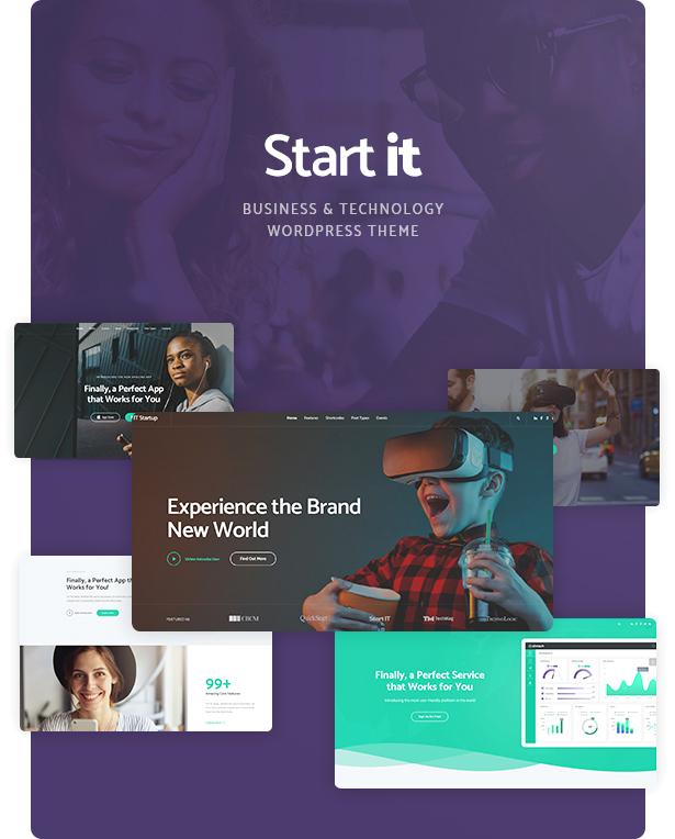 Start It – Technology & Startup WP Theme (Technology)