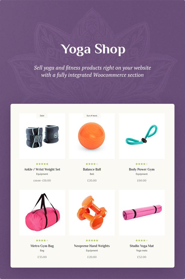 yoga theme