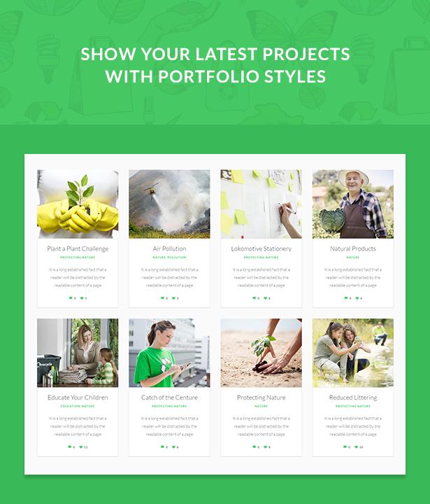nature wordpress theme