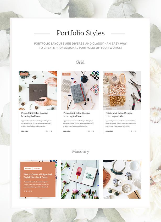 5 Handmade Shop - Handicraft Blog & Creative Store WordPress Theme theme WordPress
