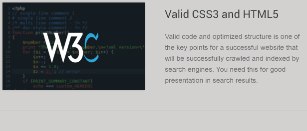 Valid CSS3 and HTML5 Code