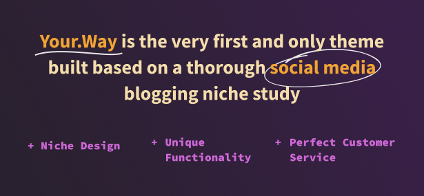 Social Media Blogging Theme